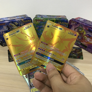 New Tomy Shining English Carte Pokemon Cards GX Tag Team Game Battle Card 60 100 200pcs EX Mega Vmax Energy Trading Kaarten Toys(China)