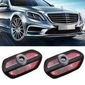 Приветственная лампа с логотипом двери автомобиля, 4 шт., для Mercedes AMG, автомобильная эмблема, лазерный проектор, призрасветильник, лампы для ...
