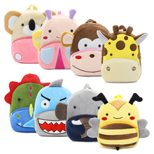 Small Backpack Bags 3d-Animal Kids Children Cartoon Cute Mini Outdoor