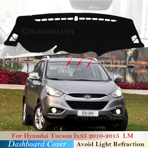 Dashboard Cover Protective Pad for Hyundai Tucson 2010 2011 2012 2013 2014 2015 LM Ix35 Accessories Dash Board Sunshade Carpet