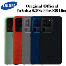 Samsung S20 Ultra Fall Offizielle Ursprüngliche Echte Wildleder Leder Ausgestattet Protector Samsung S20 Plus S20 + Fall Für Galaxy S20 fall