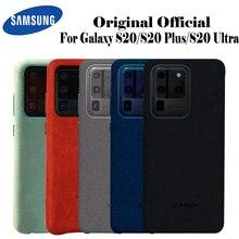 Samsung S20 Ultra étui officiel Original en cuir suédé véritable protecteur ajusté Samsung S20 Plus S20 + étui pour Galaxy S20 étui
