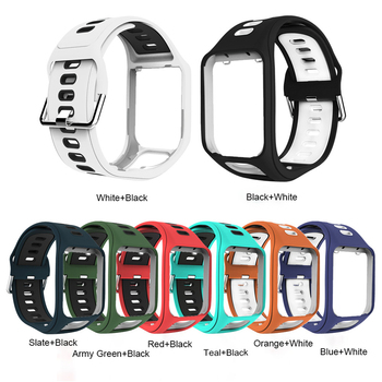 Replacement Wristband Watch Band Strap For Tom Tom Adventurer/ Runner 2 3/ Spark 3 GPS Sport Watch Band For Tom Tom 2/3 series фото