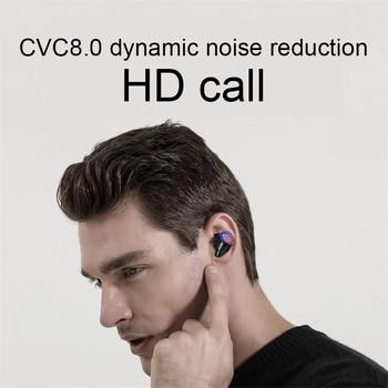TWS Bluetooth 5.0 Earphones 3000mAh Charging Box Sports Waterproof Headphone 9D Stereo Earbuds Headsets power bank Headsets 4