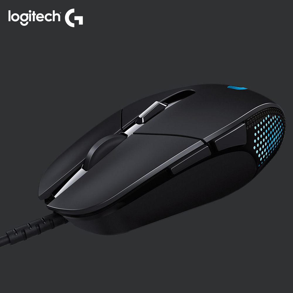 Logitech Wired Mouse G302 MOBA 4000 ZERO with DPI DELTA for Pc Daedalus-Prime Original