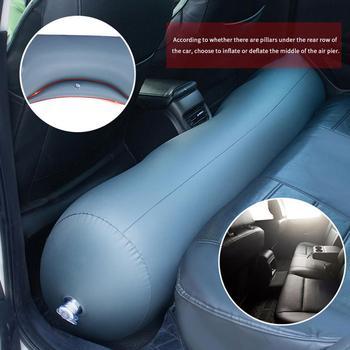 Nadmuchiwane łóżko samochodowe materac tylne szczeliny w siedzeniach Camping nadmuchiwany materac karimata poduszka materac akcesoria samochodowe tanie i dobre opinie HAIMAITONG AE (pochodzenie) Car Inflatable Gap Cushion