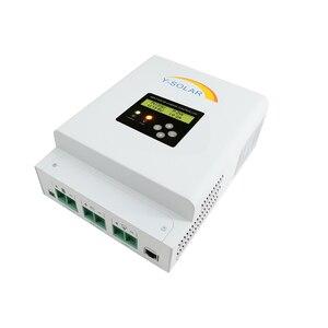 Image 4 - MPPT 12В 24В 36В 48В 60A Контроллер заряда солнечной панели для макс. 150 в вход двойной вентилятор охлаждения Солнечный контроллер с RS485