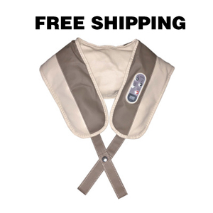 Image 3 - 【Free shipping】Massage Shawl Electrical Massage Shiatsu Back Shoulder Body Neck Massager