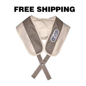 Image 3 - 【Free shipping】Massage צעיף חשמל עיסוי שיאצו חזרה כתף גוף צוואר לעיסוי