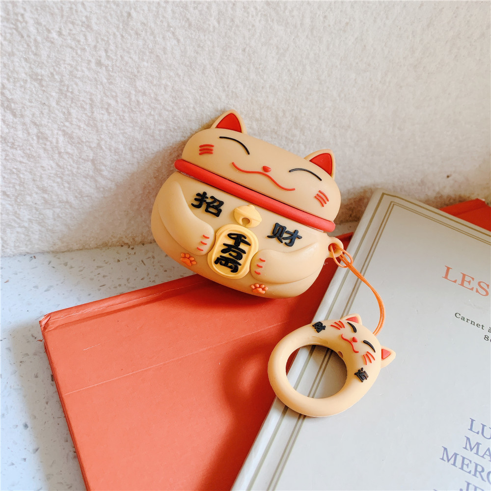 Lucky Cat Pro Case for AirPods Pro 36