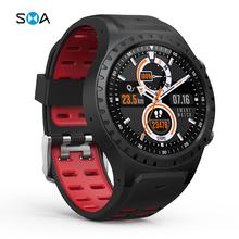 M1S inteligentny zegarek mężczyźni kobiety karta SIM Bluetooth otrzymać telefon zwrotny od człowiek Smartwatch GPS barometr kompas wysokości zegarek sportowy Smart Watch do fitnessu tanie tanio SMAWATCH CN (pochodzenie) Brak Na nadgarstek Zgodna ze wszystkimi 128MB Krokomierz Rejestrator aktywności fizycznej Rejestrator snu