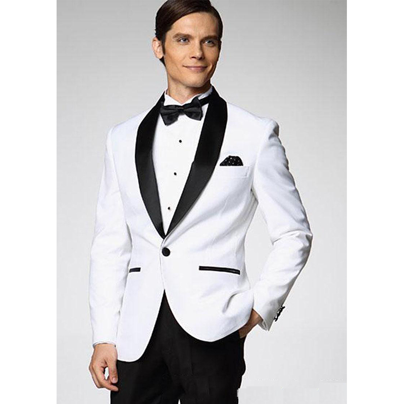 White Suit For Wedding Business Suit Dinner Suit Party Suit Wedding Dress Party Dress Peaky Blinder Two Piece Suit(Jacket+Pants)