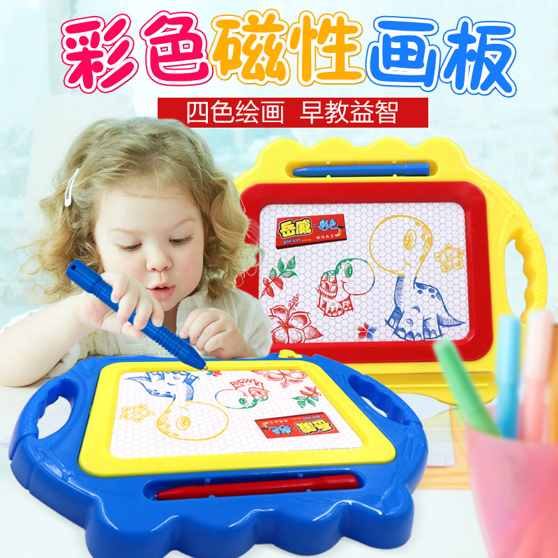 Children Small Magnetic Color Sketchpad Writing Board CHILDREN'S Baby ENLIGHTEN Doodle Board 1-3 Years Old