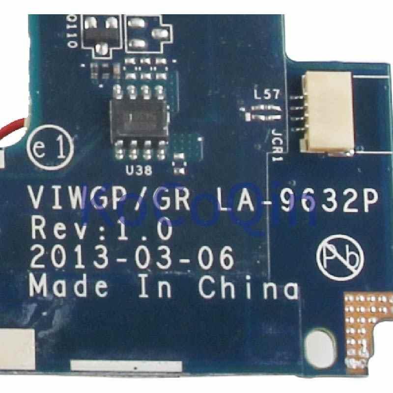 KoCoQin scheda madre Del Computer Portatile Per LENOVO Ideapad G500 HM70 PGA989 Mainboard VIWGP/GR LA-9632P 90002834 SJTNV