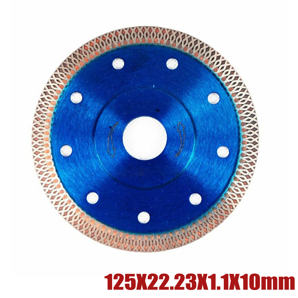 Blue Super Thin Diamond Cutting  Discs Circular Cutters For Angle Grinder Tile