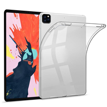 For iPad Pro 11 2020 Case Transparent Silicone Ultra Slim Soft TPU Protective Tablet Case for iPad Pro 2020 11 inch Case Clear tablet case for apple ipad pro 2 case 9 7 inch crystal clear transparent silicon ultra thin slim tpu soft cover