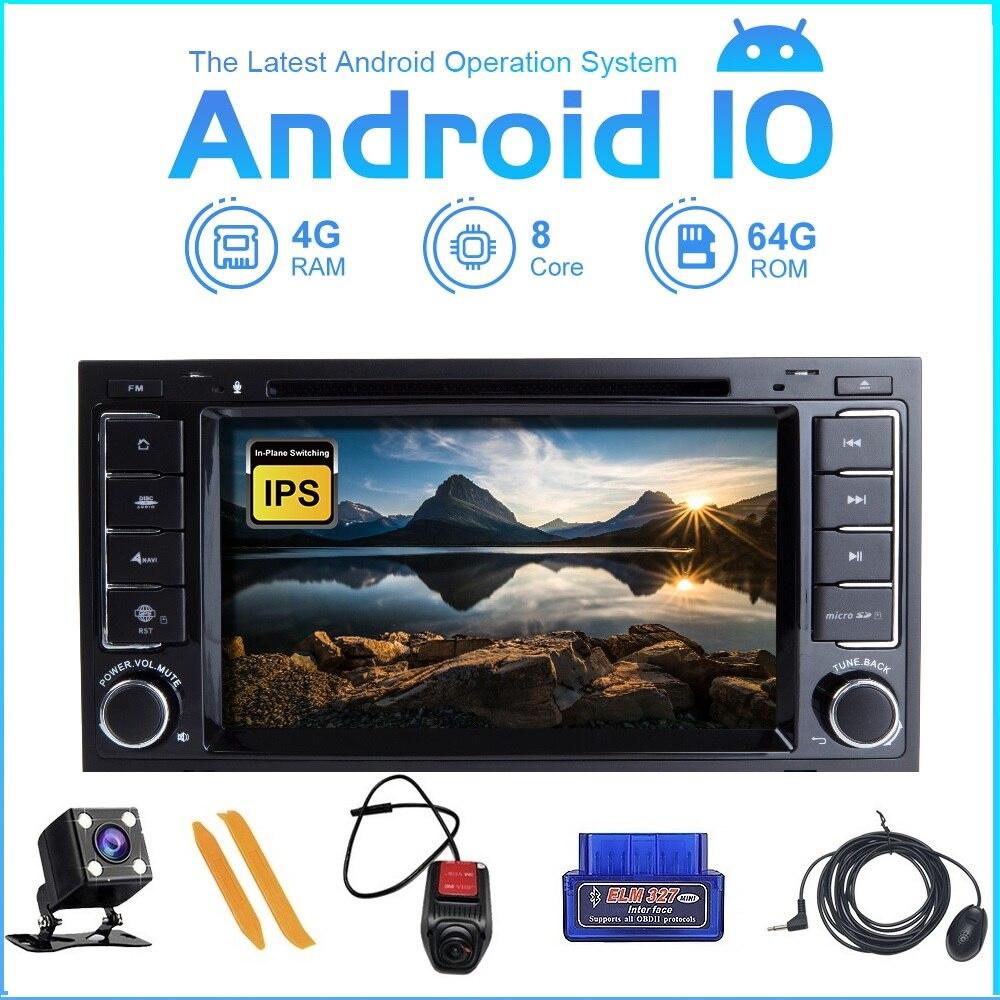 ZLTOOPAI Android 10 samochodowy odtwarzacz dvd dla VW Volkswagen Touareg samochodowy odtwarzacz multimedialny 2 Din radio samochodowe GPS odtwarzacz dvd stereo Canbus