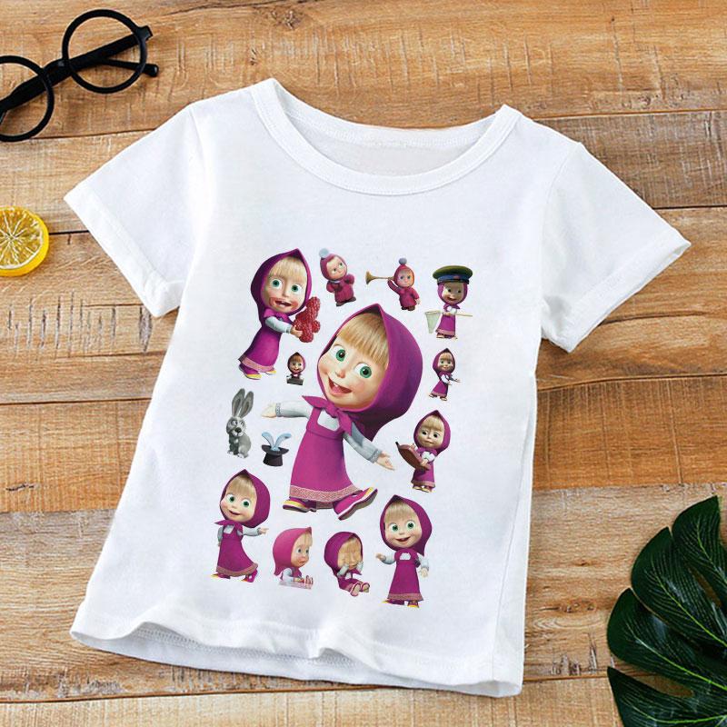 Unicorn Birthday T-Shirt Kids Boy Girl Short Sleeve T Shirt Tee Top Clothes 2-9Y