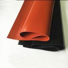 1 мм/1,5 мм/2 мм красный/черный лист силиконовой резины 250X250 мм черный силиконовый лист, резиновый матовый, силиконовый лист для термостойкости
