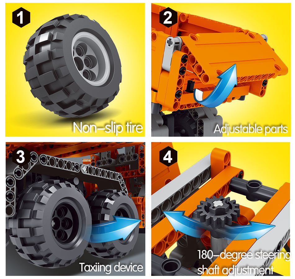 City Machine Crane Loading Truck Building Blocks Technic Construction Engineering Excavator Car Bricks Toys For Boys