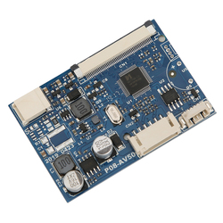 Driver Board 50-Pin 2-Channel AV Driver Board Module Signal Input for 7 / 9 / 10.1 Inch LCD Screen Controller Module