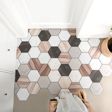 Европейские геометрические домашние дверные коврики ковер для