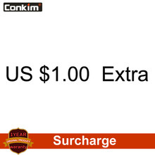Surcharge, additional costs (if 10 USD, so Pls input 10 pcs. Amounts to pay USD 10)(China)