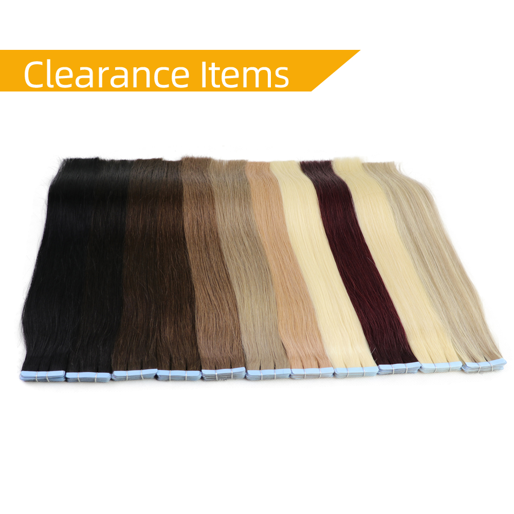 Isheeny 12 Inches Remy Tape In Human Hair Extensions 20pcs Tape Extension Straight European Hair Bundle Skin Weft Short Hair