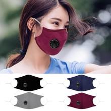 4 sztuk wielokrotnego użytku maska przeciwpyłowa maska przeciwpyłowa PM2 5 wiatroszczelna mglisty zamglenie zanieczyszczenia Respirator usta maska Respirator usta-muffle tanie tanio ISHOWTIENDA NONE Chin kontynentalnych