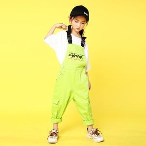 Image 3 - เด็กเสื้อผ้าJazzห้องบอลรูมเต้นรำการแข่งขันชุดเสื้อกางเกงHip Hopชุดสำหรับหญิงเวทีแสดงสวมใส่