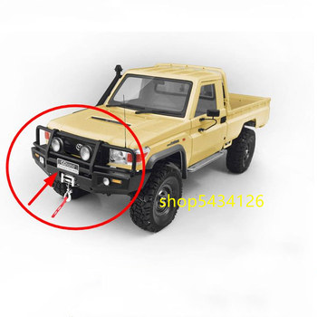 ARB-DELUXE Bumper For Rc 4wd 1/10 TF2 LWB Chassis + Toyota Killerbody LC70 Body image
