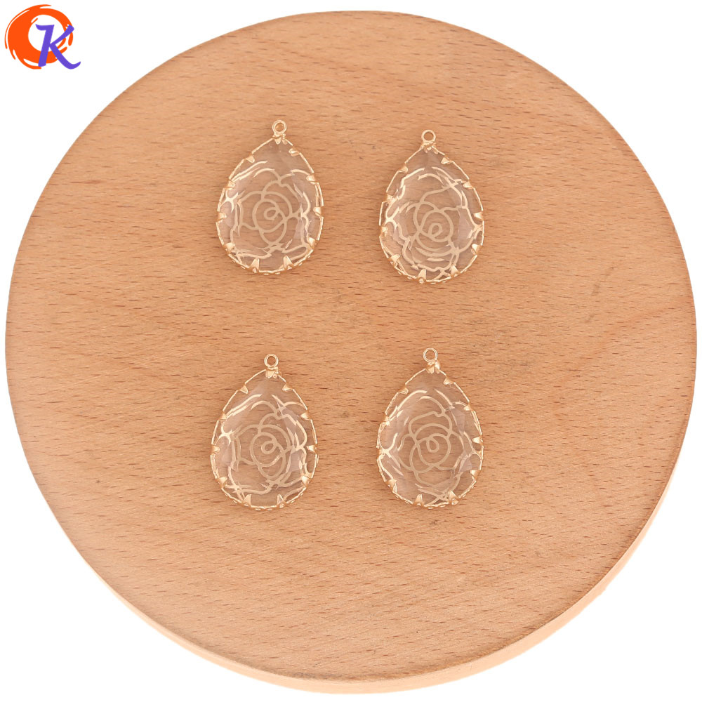 Image 5 - Cordial Design 50Pcs 15*23MM Crystal Pendant/Jewelry Accessories/DIY Jewelry Making/Charms Jewelry/Hand Made/Earring Findings-in Jewelry Findings & Components from Jewelry & Accessories