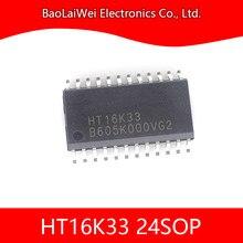 5 pièces HT16K33 20SOP 24SOP 28SOP Composants Électroniques Circuits Intégrés RAM Cartographie 16x8 LED DE CONTRÔLE Pilote Avec keyscan
