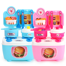 Mini Safe Kids Play House Kitchen Toy Plastic Fruit Vegetable Food Cutting Pretend Play Early Educational Children Toys Gift new pretend play plastic food toy cutting fruit vegetable food pretend play kitchen food toy children for children birthday gift