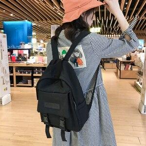 Image 2 - אופנה תרמיל ניילון נשים תרמיל נסיעות כתף תיק Bagpack לתלמידי תרמיל נער ילדה בני Backbag