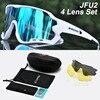 Acexpnm polarizado mountain bike ciclismo óculos de ciclismo esportes ao ar livre óculos uv400 4 lente ciclismo óculos de sol das mulheres dos homens 32