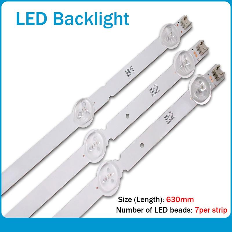 3pcs/set X LED Backlight For LG Innotek 32