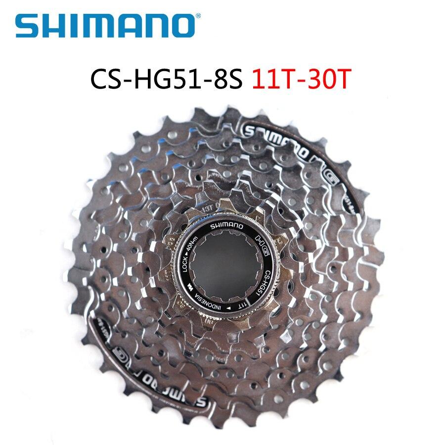 SHIMANO ALIVIO MTB Bike CS-HG51-8 8 speed 11-32T 30T Cassette//Sprocket HG51-8
