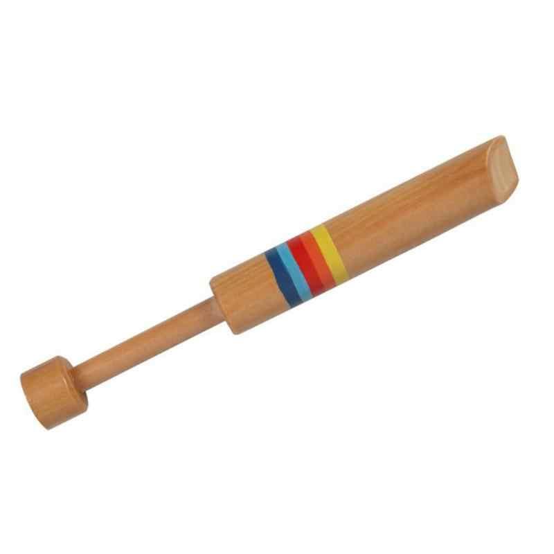 Di legno Piccolo Piccolo Bambini di Disegno Fischietti s Diacritici Scorrevole Piccolo Bambino Strumento Musicale Giocattolo Per Bambini Fischietti Classico Giocattolo
