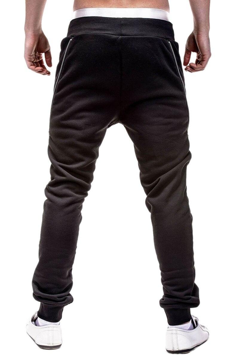 decorar calças compridas de fitness sweatpants algodão
