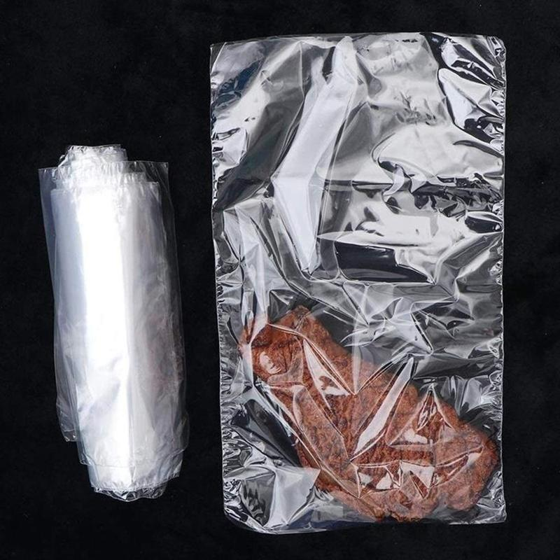 100pcs POF Heat Shrink Wrap Bags Waterproof Laminating Film Transparent Heat-shrinkable Bag For Soaps Bath Bombs DIY Crafts