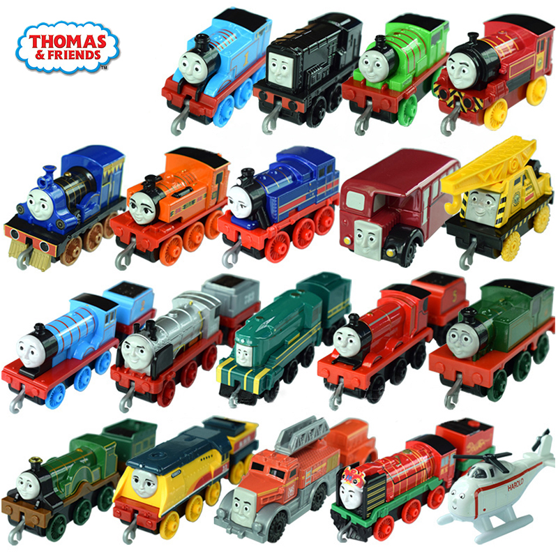 Original Thomas And Friends New Trains Model TrackMaster Alloy Train Metal Engine Toy Suitable For Track Set Toys For Children