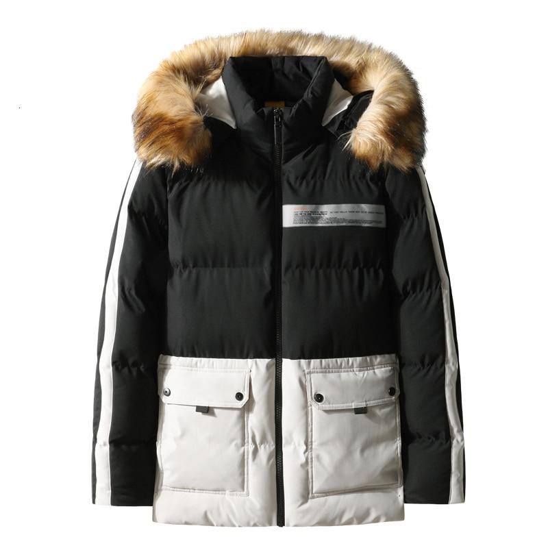 big plus size 10XL 9XL 8XL 7XL 6XL 5XL winter jacket for men warm thick Parka with fur collar hood Man Parka Jacket Man coat