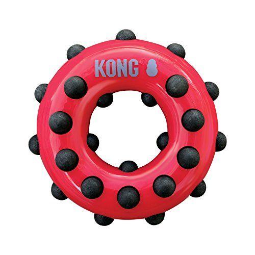 KONG - Dotz Circle - Juguete Mordedor Para Perros - Raza Pequeña