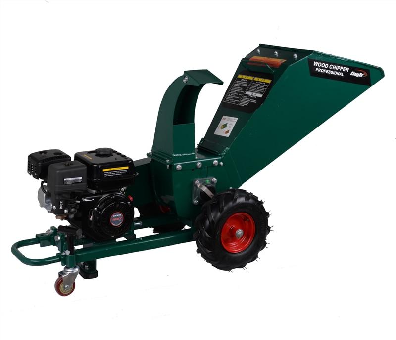 CXC-704 Gasoline Engine Branch Shredder, Manual Wood Chipper Machine