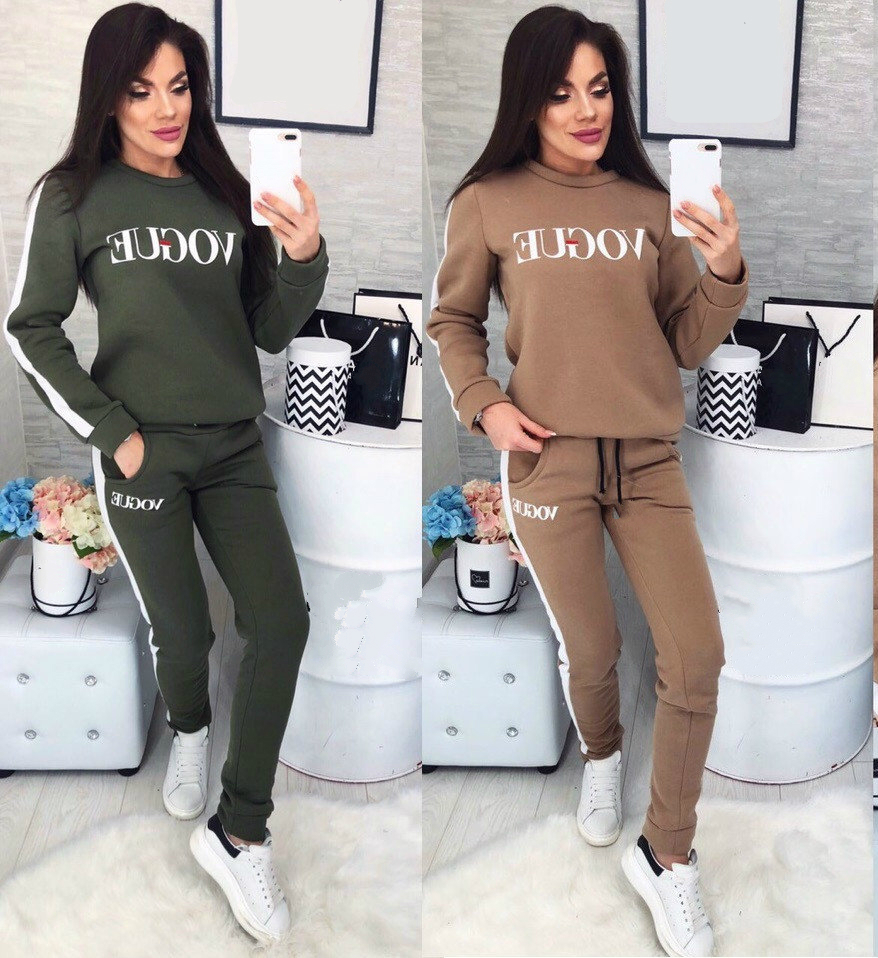 XUANSHOW Two Piece Set Top And Pant VOGUE Letter Print Side Splice Sweatshirt Pants Long Sleeve Two Piece Women Clothes Outfit