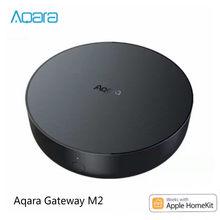 Yeni Aqara Hub ağ geçidi M2 destekler Zigbee3.0 protokolü ve çalışabilir akıllı Apple Homekit ve Aqara App Lications