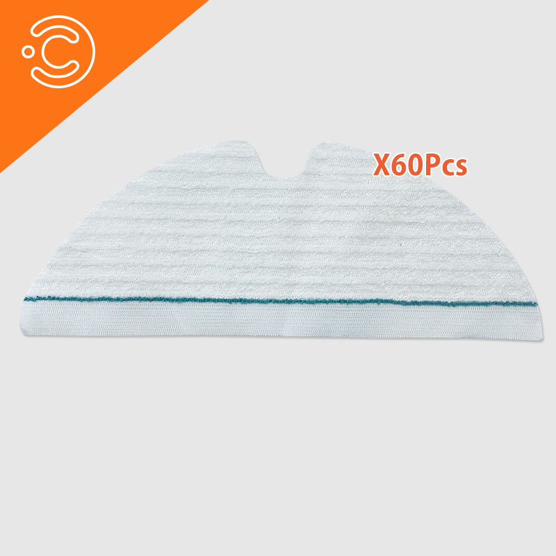 Robot Vacuum Cleaner Mop Cloth For Xiaomi Roborock S50 S55 S6 T6 Replacement Disposable Moping Cloths Pads Accessories Set
