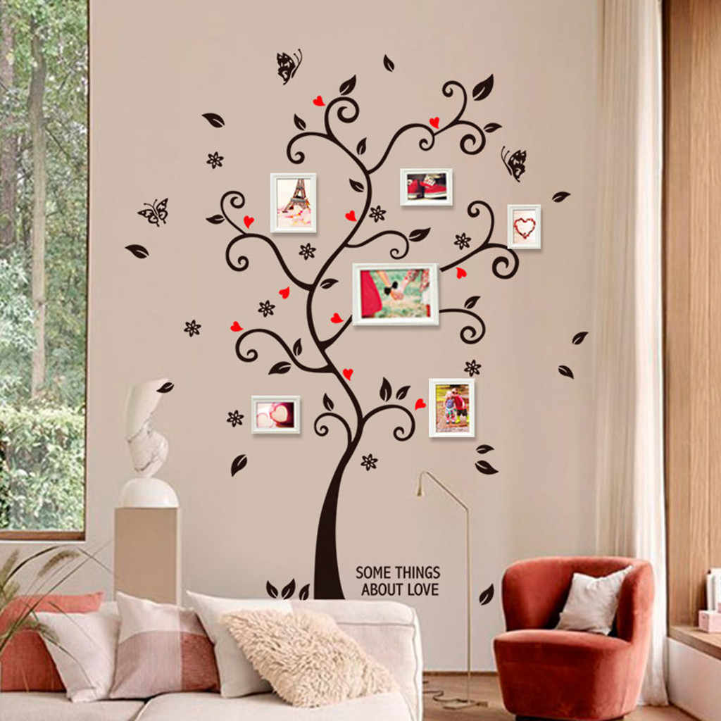 Love Memory Photo Tree Wall Sticker Home Decor Wall Stickers Living Room  Decoration Bedroom Decoration Art Wallpaper Home Decor| | - AliExpress