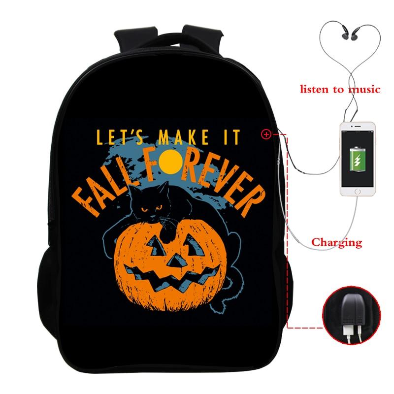Купить с кэшбэком Pokemon USB multi-function backpack casual backpack student bag travel backpack outdoor backpack unisex 16 inch backpack